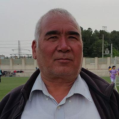 سرپرست تیم حاج خداد مبارز