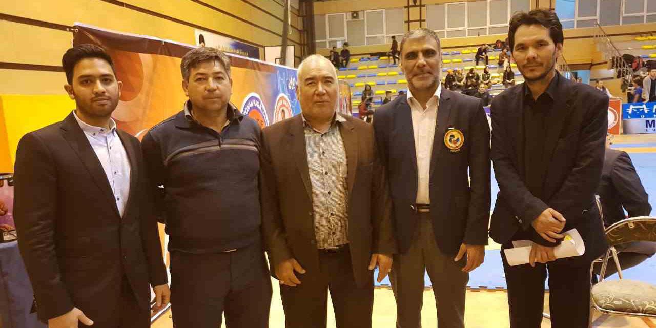 مسابقات بین المللی کاراته ایران زمین درتهران