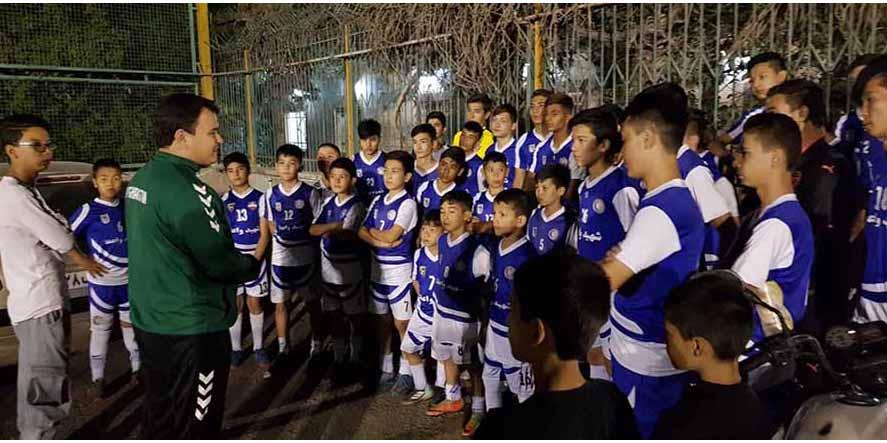 عکس مدرسه فوتبال شهید واعظ